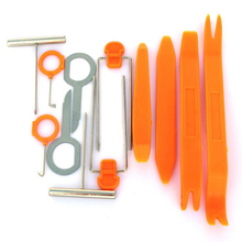 12 Pcs Set Car Pry Tool Plastic Auto Installation Tools Radio Door Clip Panel Trim Dash