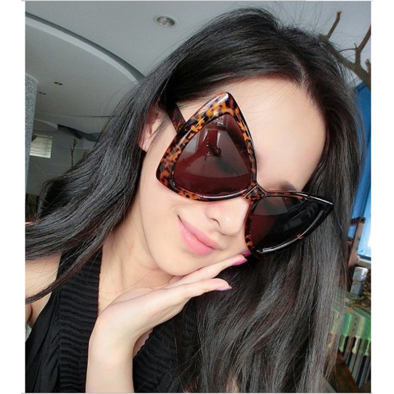 Sunglasses Oversized Retro Ladies Women For Sheli Bow-Shape