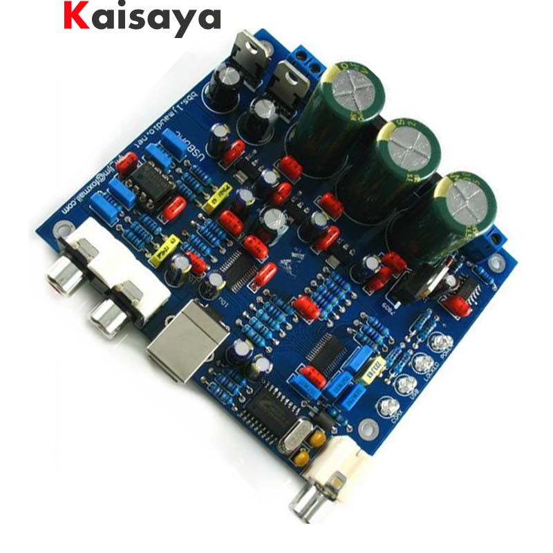 CS8416 CS4398 DAC DIY Kit with USB Coaxial 24/192K decoder Kit AC15V 32K-192K/24BIT for hifi amplifier B5-002 cs8416 cs4398 dac diy kit with usb coaxial 24 192k decoder kit ac15v 32k 192k 24bit for hifi amplifier
