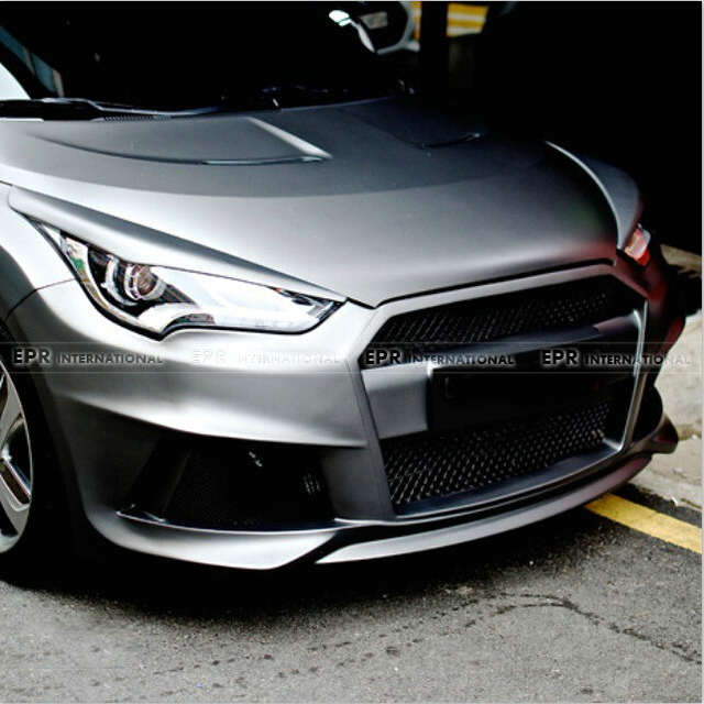 Online Shop Car Styling For Hyundai Veloster Lp Style Wide Body Frp
