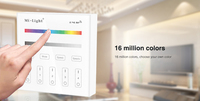 Milight B3 4 Zone RGB RGBW And Brightness Dimming Smart Panel Remote Controller Control For Led