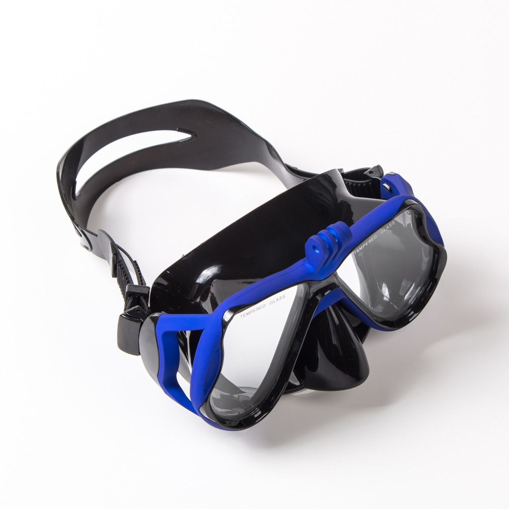 Prescription Diving Masks With Myopia Lens Underwater Camera Diopter Snorkeling Mask Corrective Scuba Mask For Sports Camera