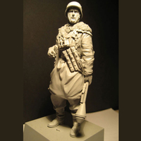 1/16 Eastern War Soldiers Military World War II Resin Personage Model