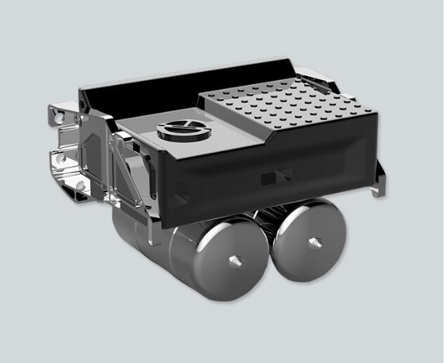 JD-107 1/14 Truck Battery Box&Air Tank Kit