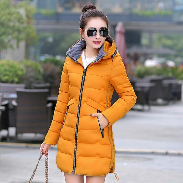 Coat Female Long Cotton Girls Parka Fashion Size Padded New Gold 7xl Women Winter 2019 Qv467 Hooded Plus Slim Overcoat Wadded Jackets 1q7yAU4w