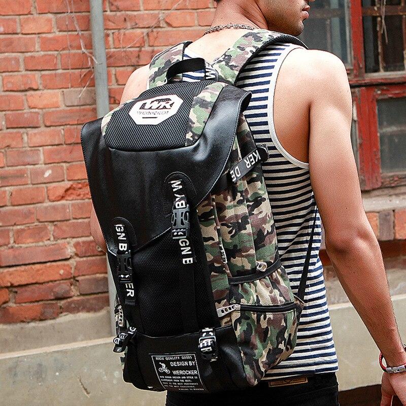 Nouveau Camouflage hommes en plein air voyage sac à dos unisexe décontracté Graffiti sac à dos sport mode grande capacité sac de voyage