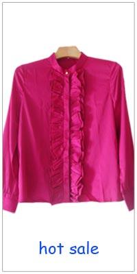 Women tops black chiffon blouse fashion short sleeve Floaty Cape ... 50554f55cfab