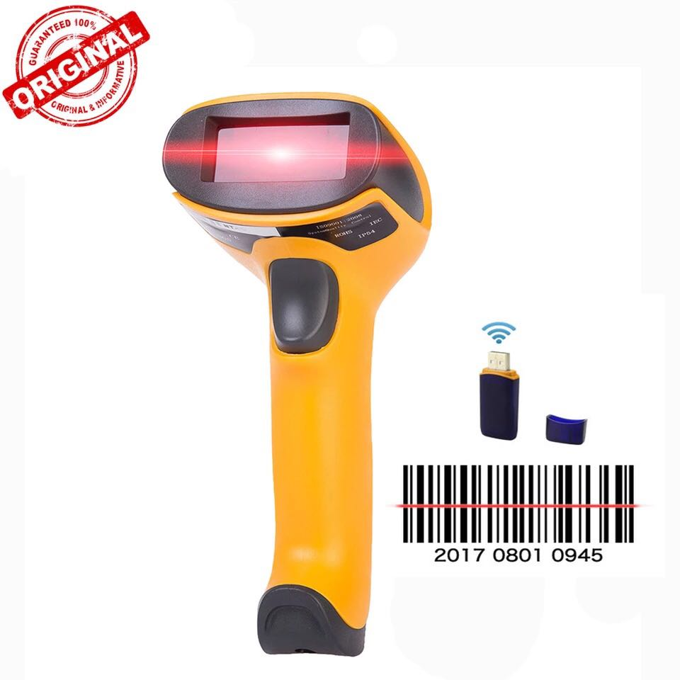 Original NETUM Wireless Laser Barcode Scanner High Scaned Speed Bar Code Reader For POS and Inventory -HW-F2 стоимость