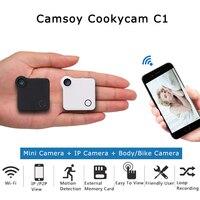 C1 Mini Camera HD 720P C1 WIFI P2P Wearable IP Camera Motion Sensor Bike Body Micro