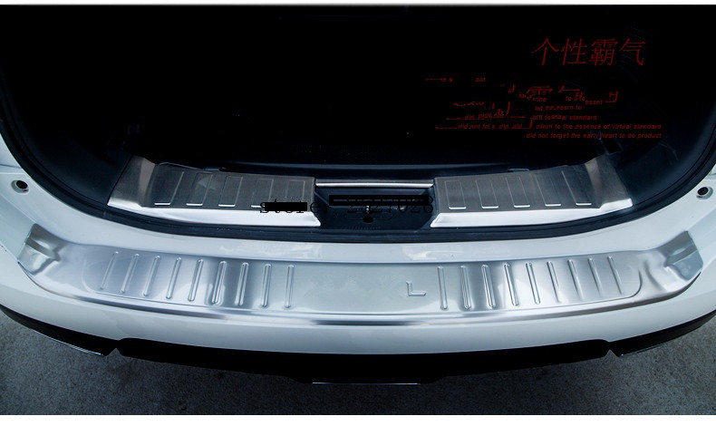 For 2017-2019 Nissan Rogue x-Trail Rear Bumper Protector Trunk Cover Sill Plate