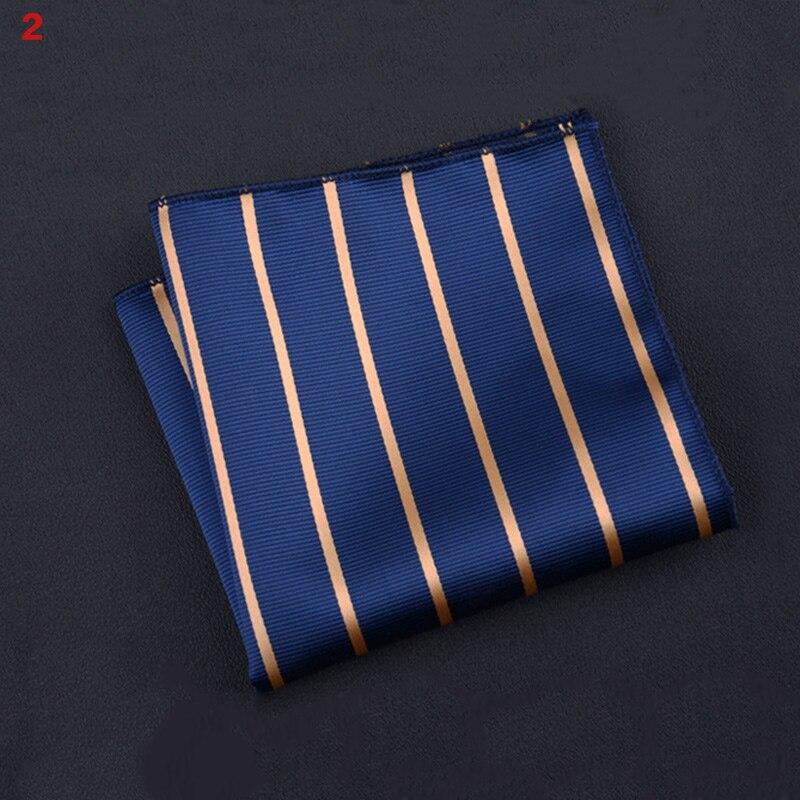 Hot Sale Polyester Square Towel Trendy Wedding Banquet Handkerchief Gentleman Suit Pocket Hanky CXZ