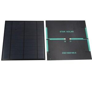 Image 5 - 5V 4.2W 840mA panneau solaire Portable Mini Sunpower bricolage Module panneau système pour lampe solaire batterie jouets téléphone chargeur cellules solaires