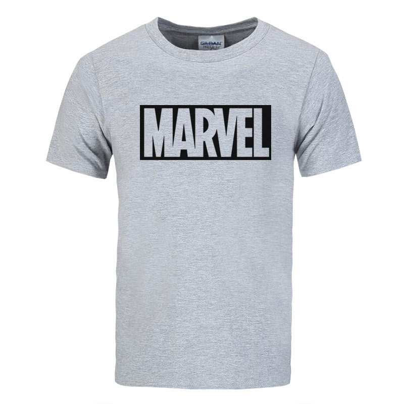 2017 new brand marvel t shirt men tops tees top quality for Top dress shirt brands