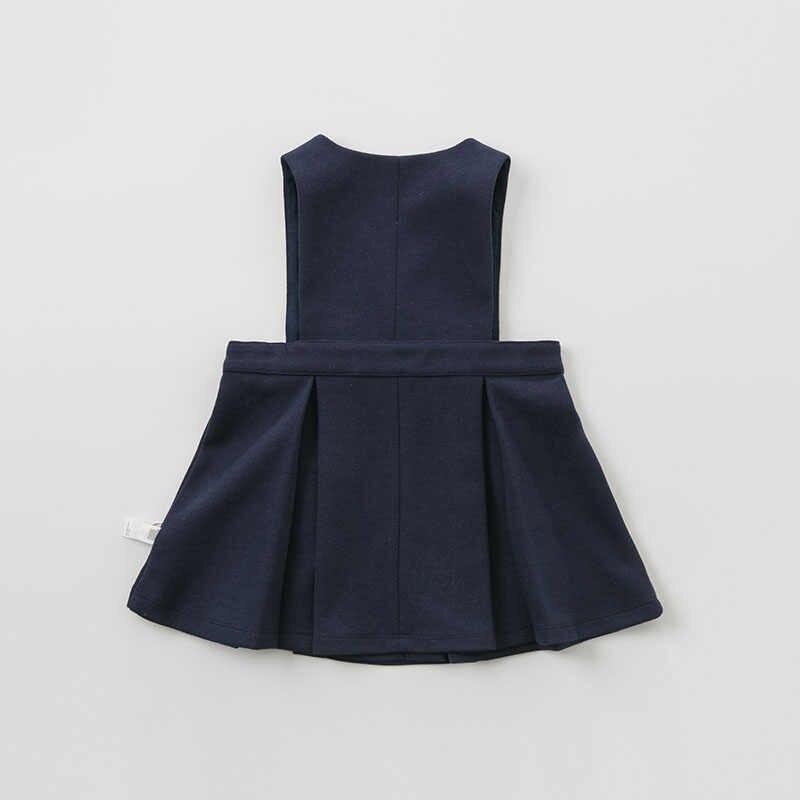 DB10159 dave bella/Детское платье в морском стиле; весенние платья без рукавов для девочек; детское платье для дня рождения; изысканное платье