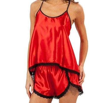 377a755e92 Snowshine YL4 de encaje de mujeres Sexy pasión Lencería Babydoll  G-StringPlus tamaño Pijamas 2 PC Set envío gratis