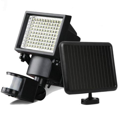 dcoo 60led luzes solares ao ar livre ultra brilhante sensor de movimento solar luzes de