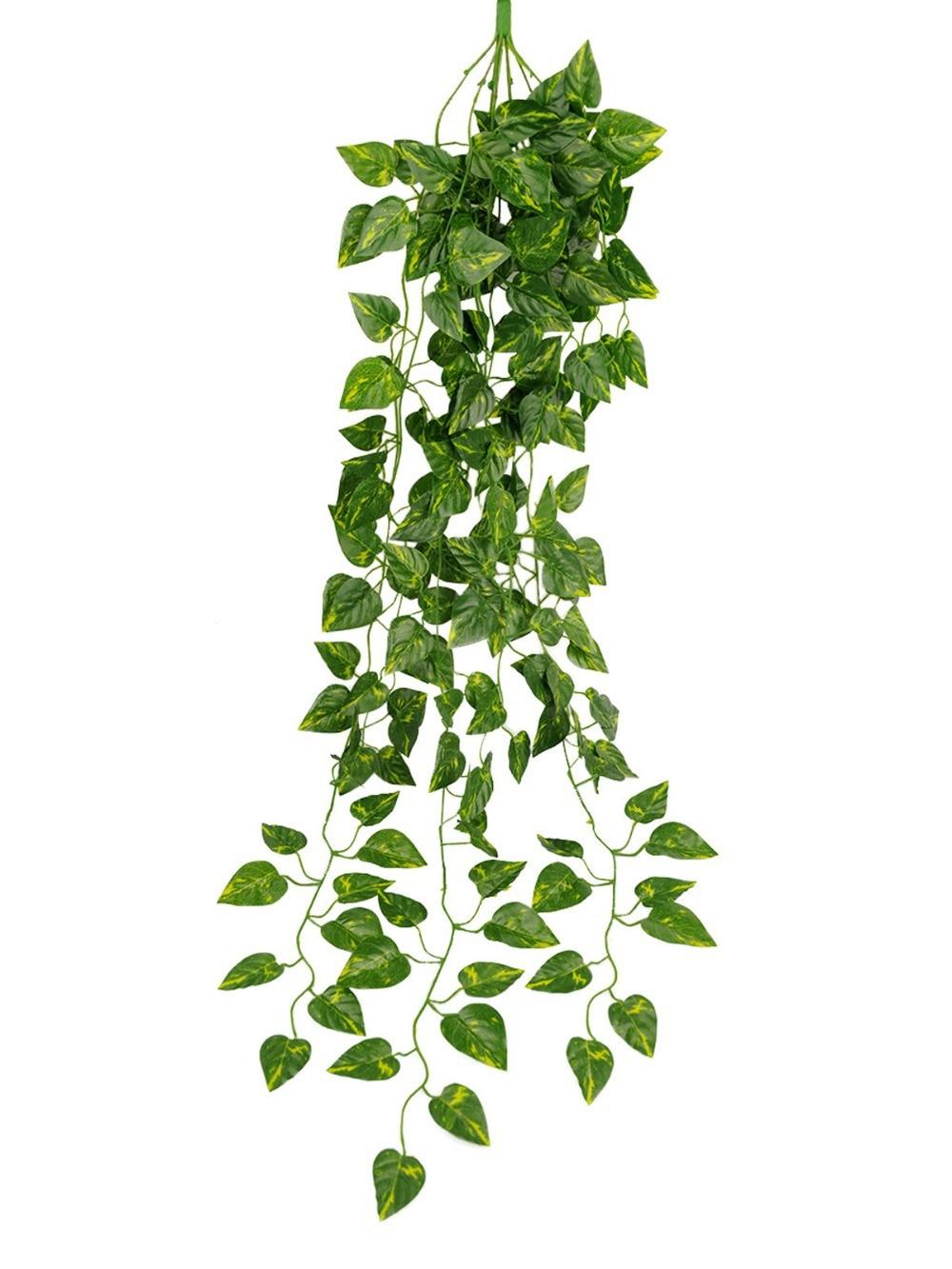 pcs/lot artificial green garden plant simulation hanging vine, Beautiful flower