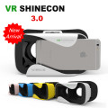 "VR Shinecon III Head-Mount Cardboard Virtual Reality Glasses Mobile 3D Video Movie Glasses 3 D VR Helmet Park for 4.7-6.0"" Phone"