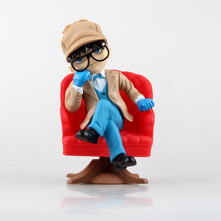 Anime Cartoon Detective Conan PVC Action Figure Collectible Model Toy 20cm KT1001 цена 2016