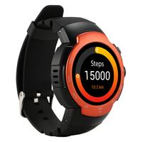 Original Zeblaze Blitz Smart Watch Phone MTK6580 Quad Core Heart Rate Monitor Smartwatch 3G WCDMA Wifi Android 5.1 GPS Watch