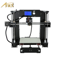 Anet A6 A8 Impresora 3D Printer Easy Assemble with Auto Leveling Big Size Christmas gifts Reprap i3 DIY Printers SD Card