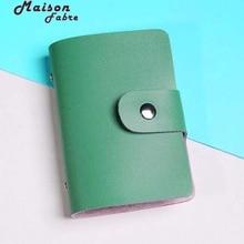 Maison Fabre Männer Frauen Leder Kreditkarteninhaber Fall Kartenhalter Brieftasche Visitenkarte Marke Card & ID Halter