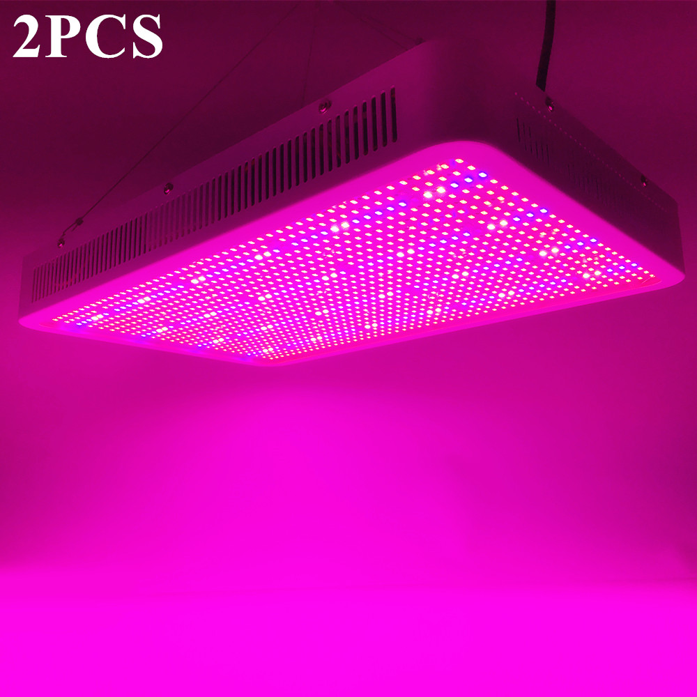 2PCS 300W 400W 1200W 1600W LED Grow Light Full Spectrum Flower indoor Lamp for Plants Veg Bloom Greenhouse Tent Plant Lighting 2pcs full spectrum led grow light 400w grow lights indoor plant lamp for plants flower greenhouse grow box tent bloom ae