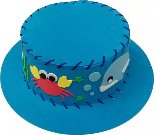 Handmade Hat with Funny Designs (Set of 6)