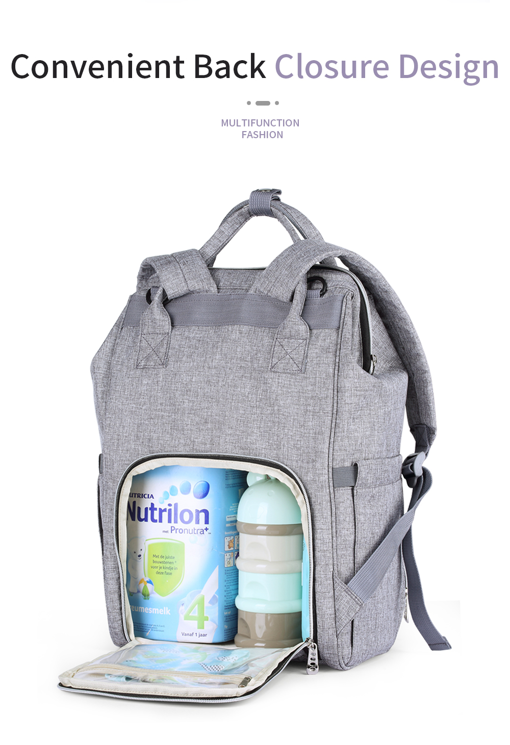 HTB1pEo0cMmH3KVjSZKzq6z2OXXat Insular Brand Nappy Backpack Bag Mummy Large Capacity Stroller Bag Mom Baby Multi-function Waterproof Outdoor Travel Diaper Bags
