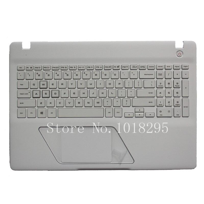 New US Laptop Keyboard for SAMSUNG 8500GM English  Keyboard Shell Palmrest Cover Backlight заготовки под роспись disney набор для раскрашивания рюкзака холодное сердце