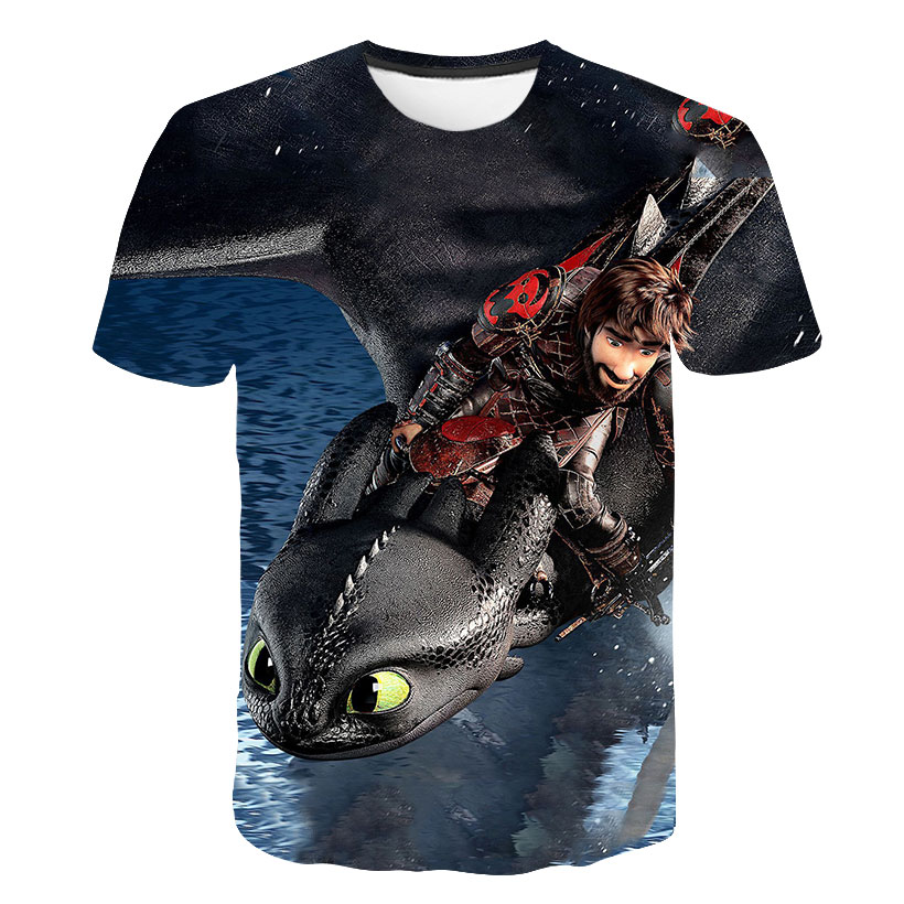 HOW TO TRAIN YOUR DRAGON inspired LIGHT FURY T-shirt .available up to 5XL