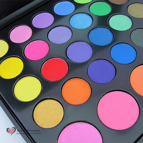 38 Cores Shimmer Matte Eyeshadow Sombra Mineral Maquiagem Em Pó corar Concealer Palette Kit Set P38 Atacado