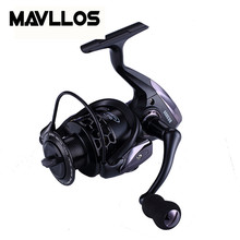 Mavllos Ratio 5.5:1 Metal Handle Spinning Fishing Reel 1000 3000 5000 Series 14BB Ultra Light Saltwater Jigging Spinning Reels