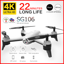 SG106 Wifi RC Drone 4K 1080P 720P HD Dual Camera Optical Flow Aerial Quadcopter