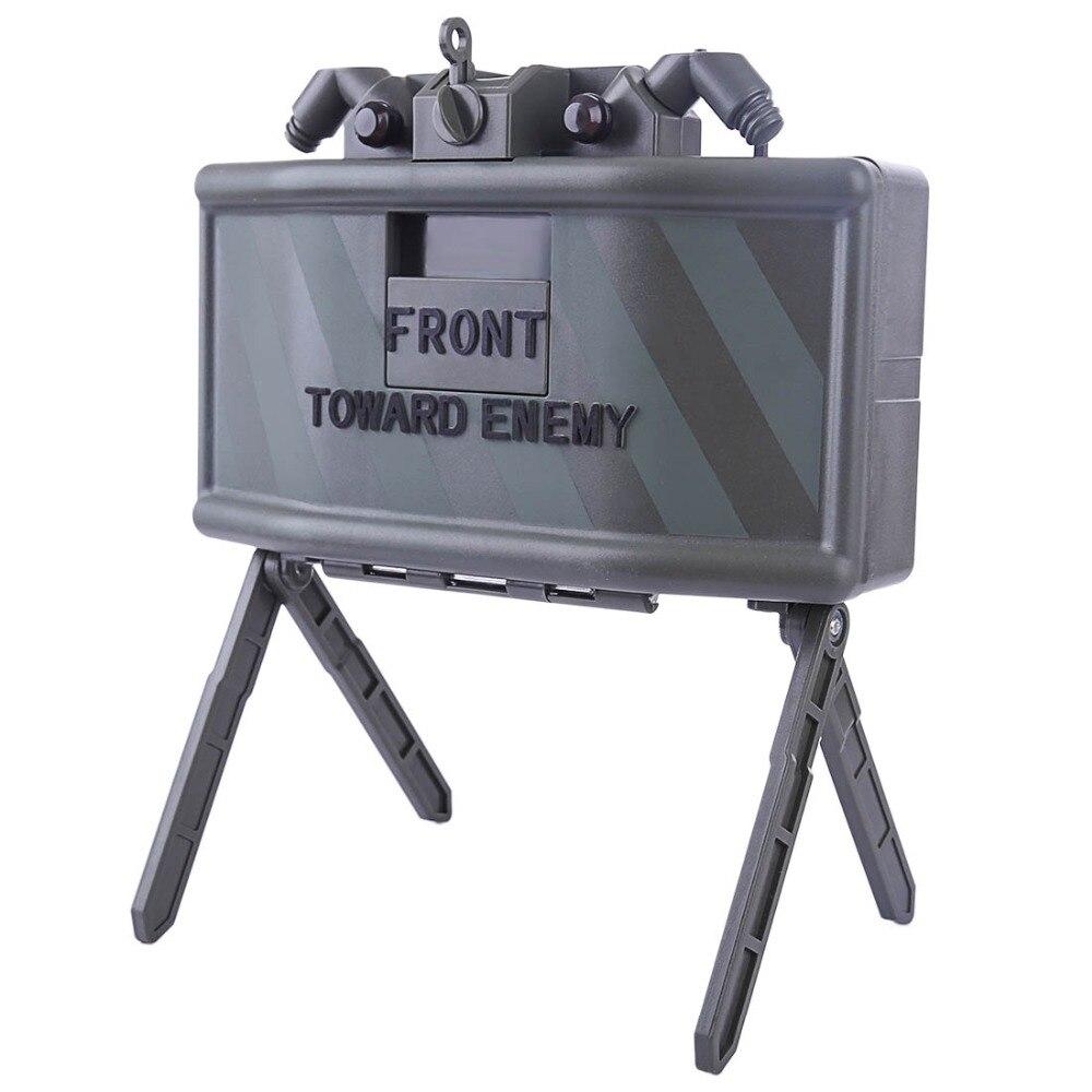 Camuflaje de infrarrojos de inducción de agua perlas de Gel antiperson trampa juguete electrónico con motion sensor para Airsoft juego CS Nerf juego