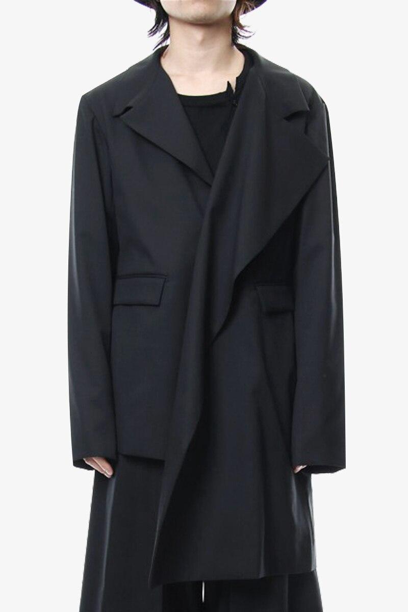 M-6XL!! The big size show    2018 Long original designer suit jacket for autumn/winter period