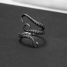 Антикварное кольцо Punk Style Titanium Steel