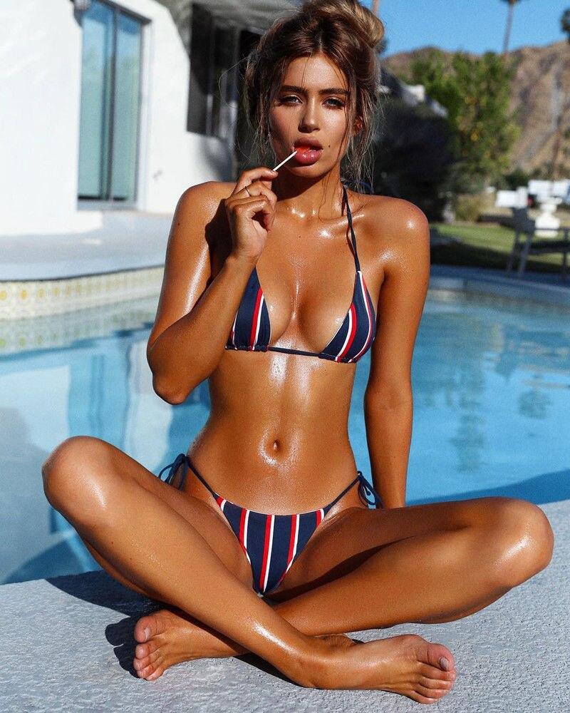 HTB1pEpEXaLN8KJjSZFKq6z7NVXa0 Hirigin Striped Women Swimsuits Women Bandage Push Up Paded Imbottito Reggiseno Bikini Set Hot Bathing Suit Beach Swimwear