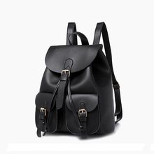 Women Backpack Shoulder Bag PU Leather Women's Bag Sac A Dos Fashion Ladies Travel Backpack School Bags For Teenage Girls 2019 стоимость