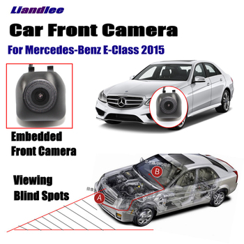 Car Front View Camera For Mercedes Benz E-Class W212 2015 Not Rear View Backup Parking Camera HD CCD Night Vision for mercedes benz clk class w209 a209 c209 2002 2009 hd ccd car rear view reverse camera sets rca