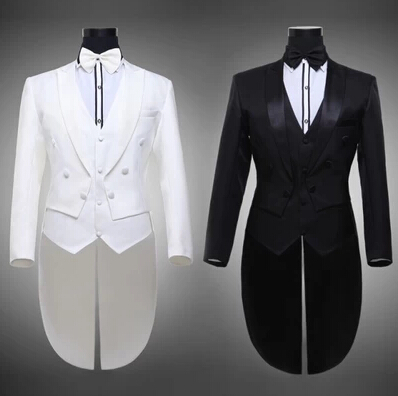 suit apparel Picture - More Detailed Picture about Black white ...