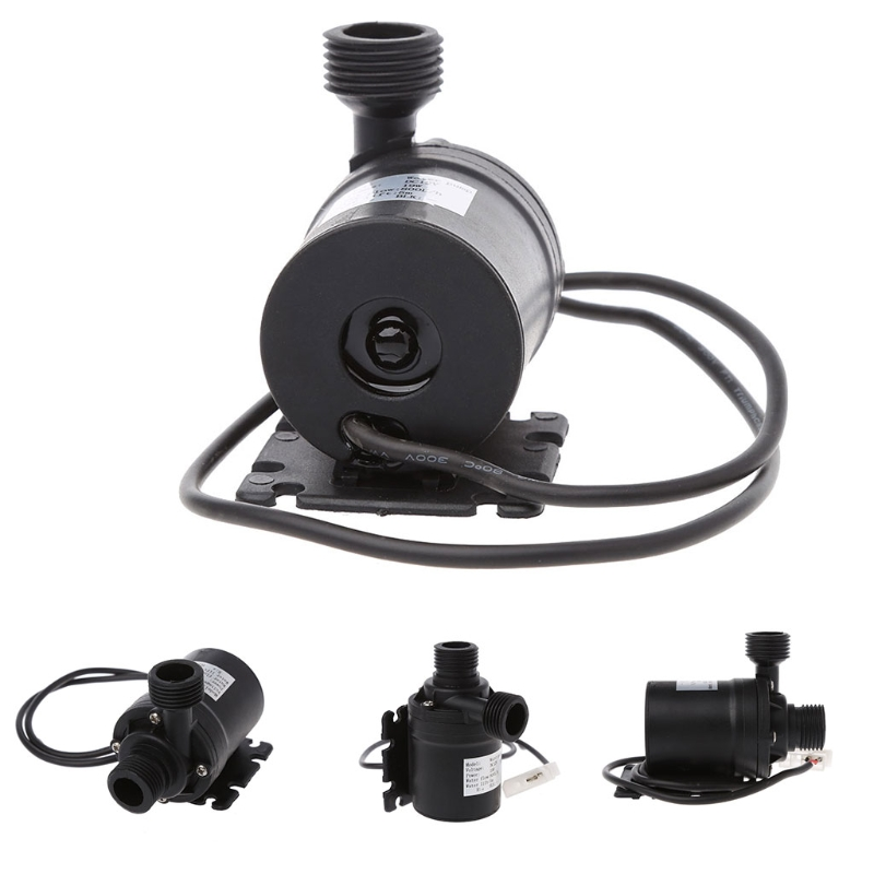 ZYW680 Water Pump High Performance Low Noise 4  Inlet and Outlet 12V 5 Meter