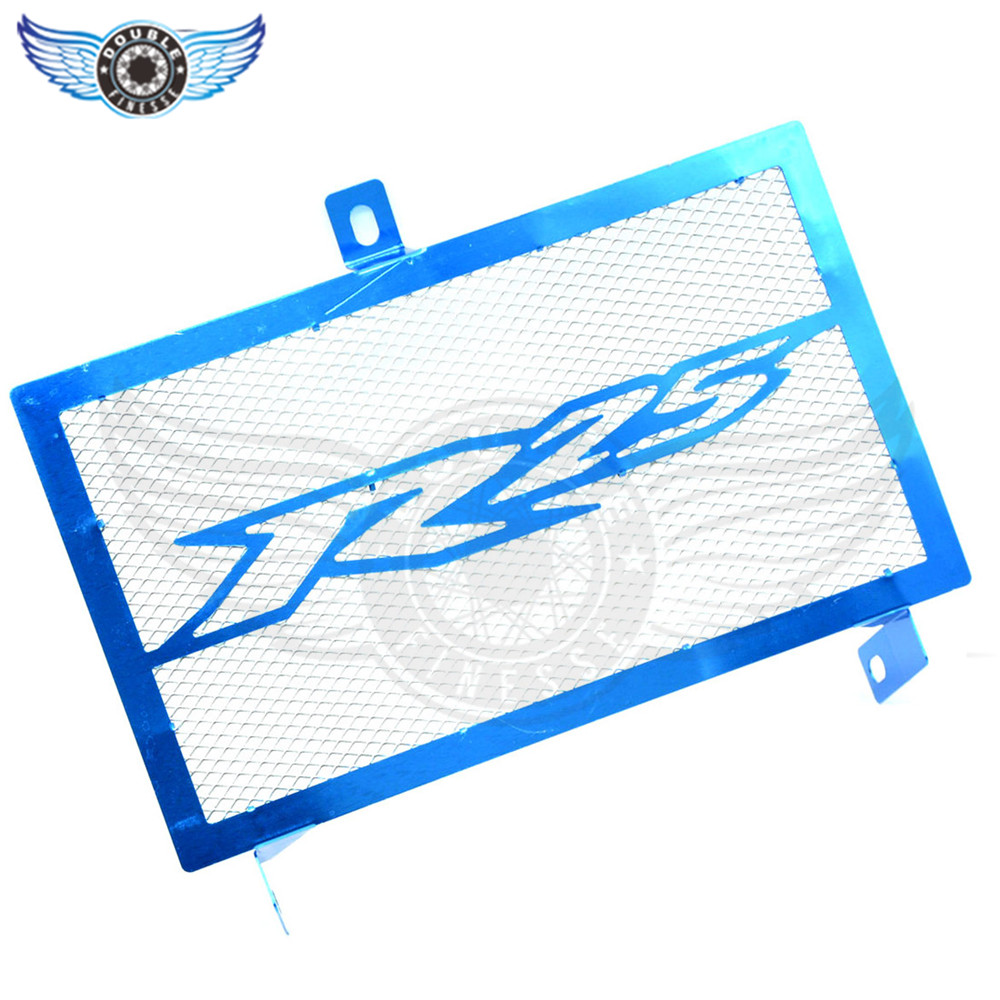 brand new  Motorcycle Stainless Steel Radiator Guard Protector Grille Grill Cover blue for yamaha yzf-25 yzf r25 2015 2016 15 16 arashi motorcycle radiator grille protective cover grill guard protector for 2008 2009 2010 2011 honda cbr1000rr cbr 1000 rr