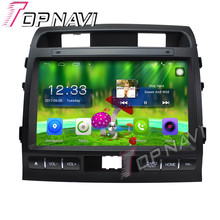 "Topnavi 10.1 ""Quad Core Android 6.0 car GPS navegación para Toyota Cruiser 2009 2010 2011 Radios audio multimedia, no DVD"