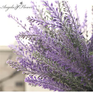 Angela flower lavender silk artificial flowers decorative