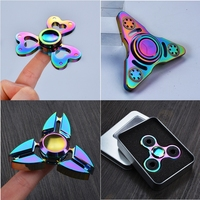2017 A Variety Of Styles Hand Spinner Multicolor Aluminum Alloy Finger Spinner Metal Adult Funny Anti