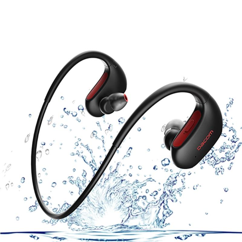 DACOM L05 Sports Bluetooth Headset Wireless Headphone Running IPX7 Waterproof Headset Neckband Handsfree for phone K6H Pro BT5.0