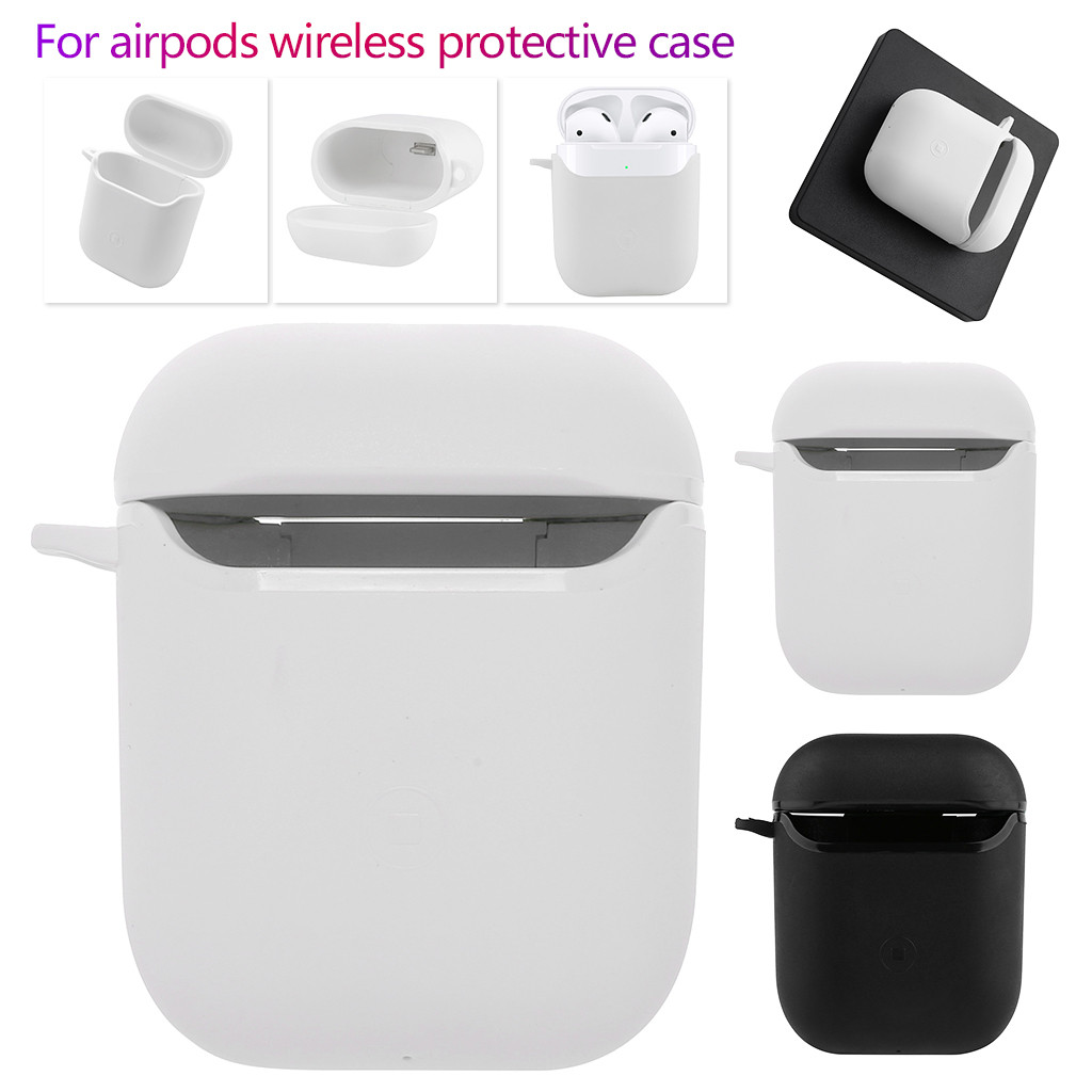 Wireless Protective Shock Proof Cover Case For Apple For AirPods Earphones New Fashion Drop Shipping Travel portable 2019 Newest