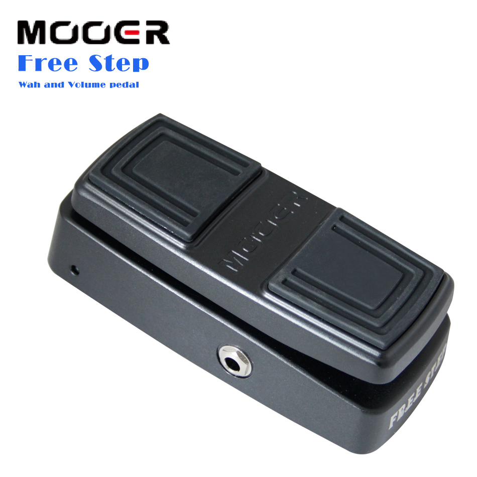 NEW Wah Guitar Effect Pedal MOOER FREE STEP Wah and Volume pedal Smooth,seamless volume control kw 1 multi function guitar 2 in 1 mini volume wah pedal toy musical instrument