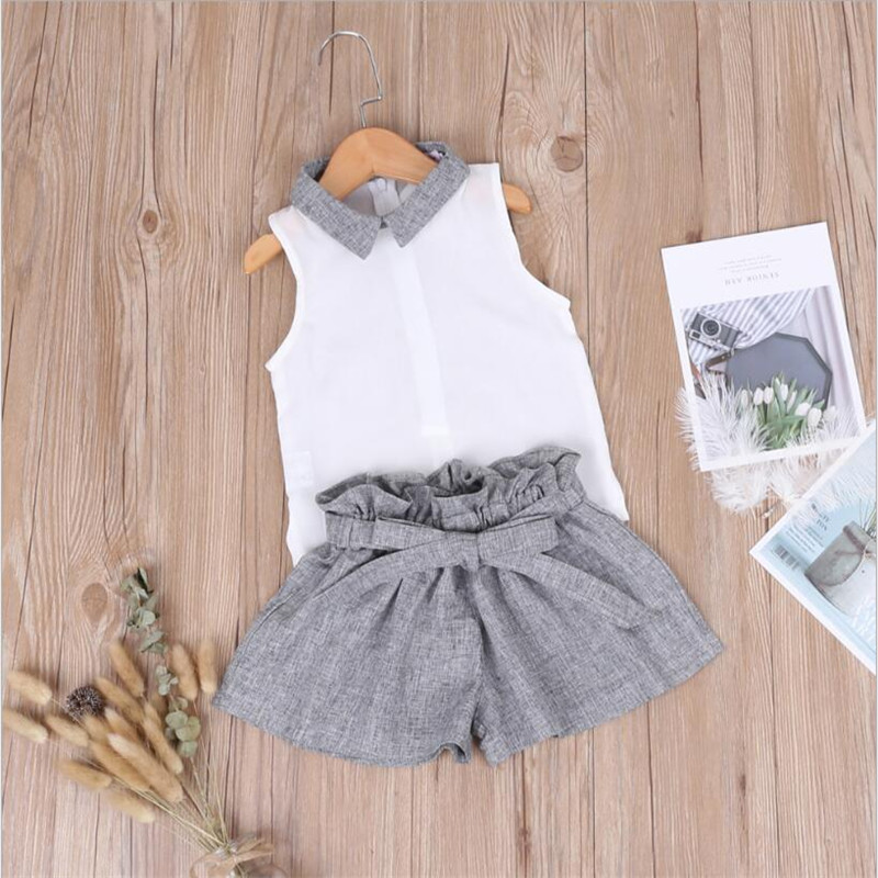 New Child Woman Set 2019 Summer time Kids Garments Sleeveless Child Units O-neck Vest Stable Clothes Bow Quick Pants 2Pcs Ladies Fits Aliexpress, Aliexpress.com, On-line procuring, Automotive, Telephones &...